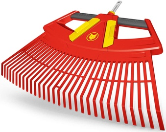Wolf-Garten Leaf Rake 4in1 Red/Yellow