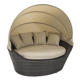 Home4you Mini Muse With Canopy Dark Brown