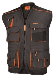 Art.Master Classic Work Vest Grey/Orange 54