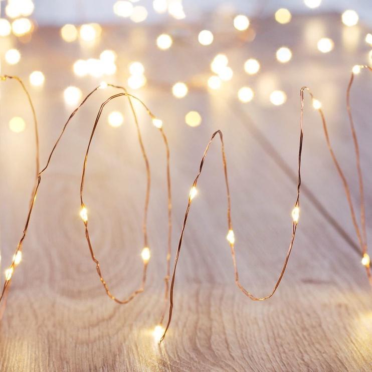 Jõulutuled DecoKing LED Micro, soe valge, 1.3 m