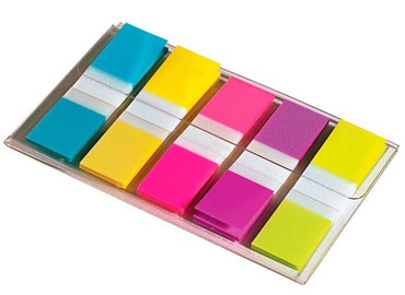 3M Post It Index Small In a Plastic Dispenser Assorted 20x50 Bright Colours