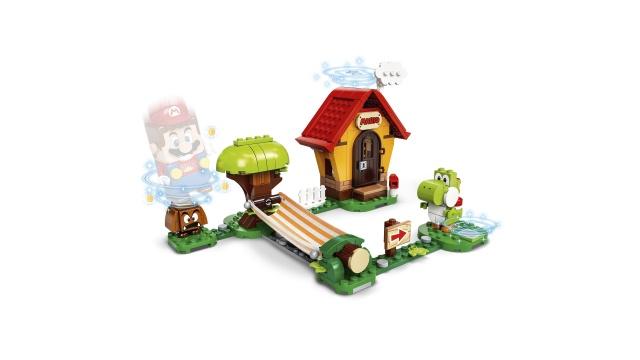 Konstruktor LEGO Super Mario Mario's House & Yoshi Expansion Set 71367 71367, 205 tk