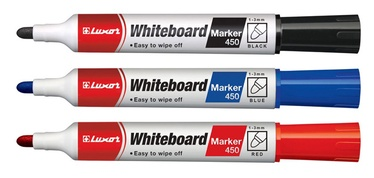 Luxor White Board Marker 450 Black
