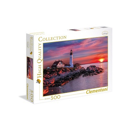 Clementoni High Quality Puzzle Portland Head Light 500pcs 35049