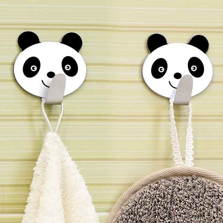 Tatkraft Panda Adhesive Hooks 2 pcs
