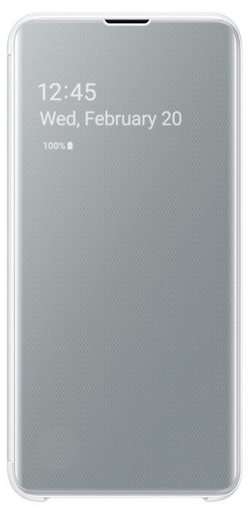 Samsung S-View Flip Cover For Samsung Galaxy S10e White