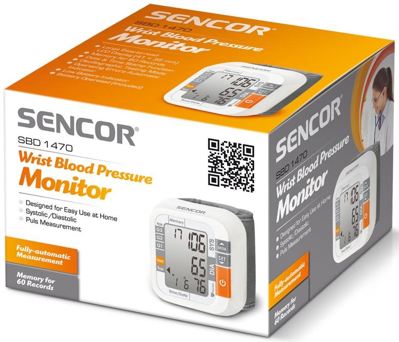 Sencor Digital Blood Pressure Monitor SBD 1470