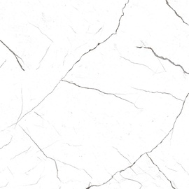 Seramiksan Atlas White Floor Tiles 40x40cm White