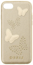 Guess Studs And Sparkle Hard Back Case For Apple iPhone 7/8 Beige