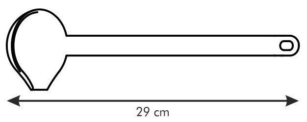 Tescoma Space Line Soup Ladle 29cm