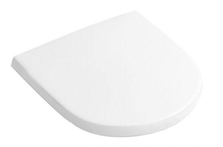 Villeroy & Boch O.Novo Compact WC Seat & Cover SC White