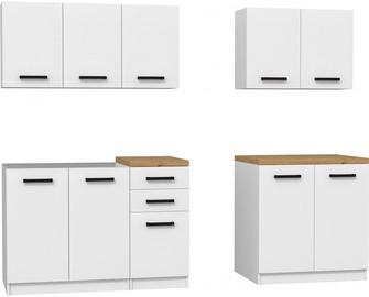 Top E Shop Kitchen Furniture Set White Oak Artisan