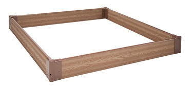 Home4you Garden Bed 120x120cm Cedar