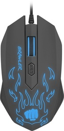 Fury Brawler Optical Gaming Mouse Black