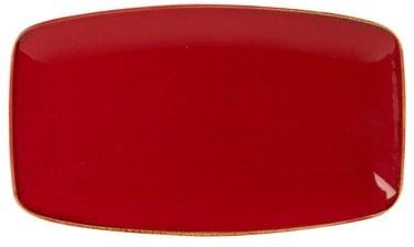 Porland Seasons In-Depth Serving Plate 31x18.4cm Red