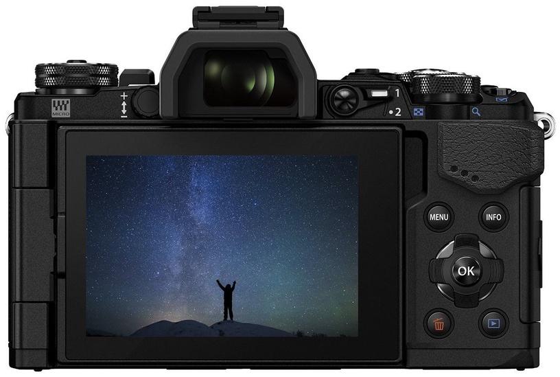 Olympus OM-D E-M5 Mark II Black + 12-40mm F2.8 Lens Black