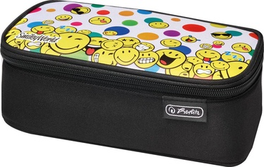 Herlitz Pencil Pouch Beatbox SmileyWorld Rainbow Faces 50015276