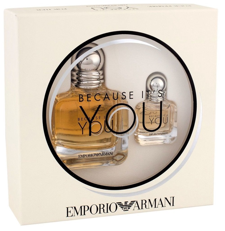 Giorgio Armani Emporio Armani Because It's You 50ml EDP + 7ml EDP