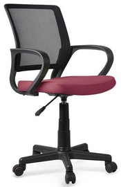 Halmar Joel Children Chair Black/Dark Pink