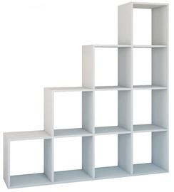 Top E Shop Shelf Unit Step RS-40 White