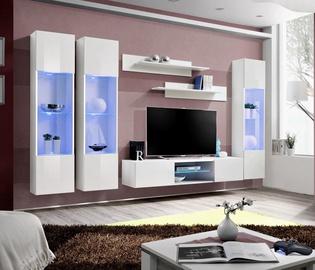 ASM Fly P3 Living Room Wall Unit Set White