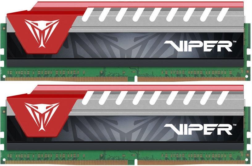 Patriot Viper Elite Series 16GB 2400MHz CL15 DDR4 DIMM Red KIT OF 2 PVE416G240C5KRD