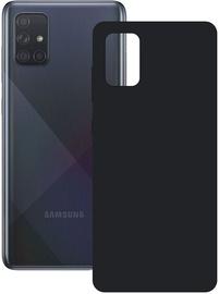 Ksix Silk Back Case For Samsung Galaxy A71 Black
