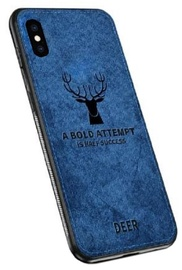 Mocco Deer Back Case For Apple iPhone X/XS Blue