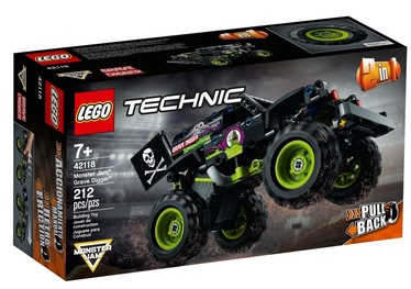Constructor LEGO Technic Monster Jam Grave Digger 42118