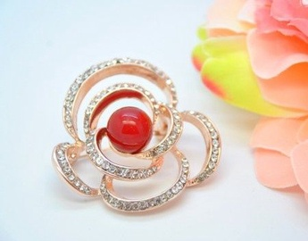 Vincento Brooch With Zirconium Crystal LD-1277