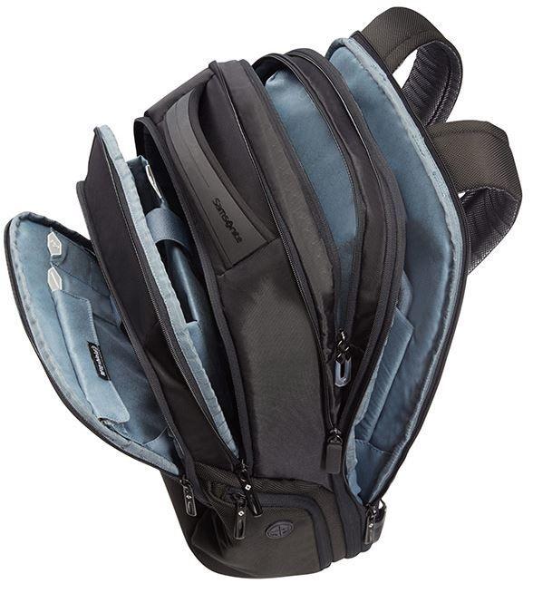 """Samsonite Notebook Backpack CityScape For 17.3"""" Black"""