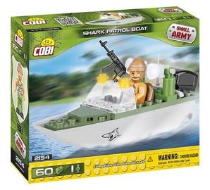 Cobi Small Army Shark Patrol Boat 60pcs 2154