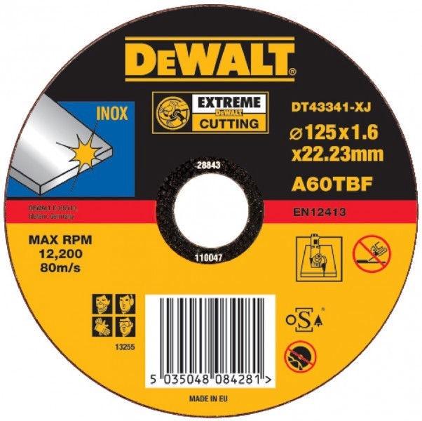 DeWALT DT43341-XJ Cutting Disc for Stainless Steel