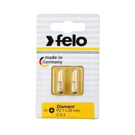 Teemantist kruvikeerja otsik Felo, PZ1X25