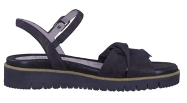 Tamaris Sandal 1-1-28327-22 Navy Metallic 36