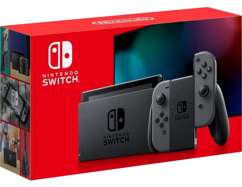 Nintendo Switch Grey + Zelda: Breath of the Wild