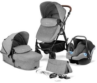 Универсальная коляска KinderKraft Moov 3in1 Gray Melange