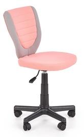 Halmar Children Chair Toby Pink/Grey