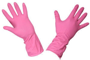 Rubber Gloves PLL258B L