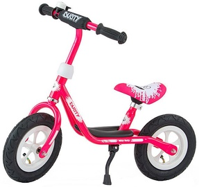 Lastejalgratas Milly Mally Dusty 10'' Balance Bike Pink White 3265