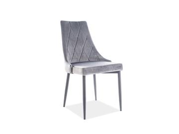 Söögitoa tool Signal Meble Trix B Velvet Grey