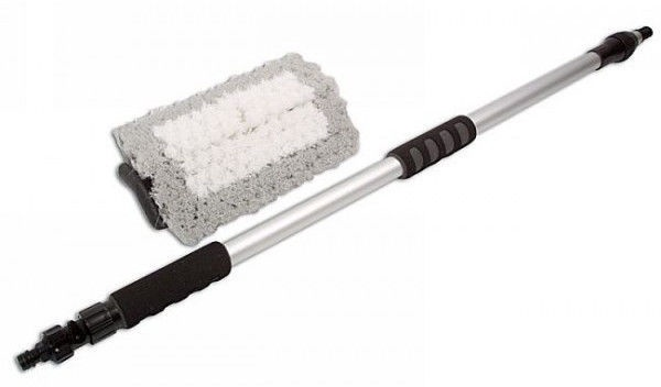 Laser Tools 3874 Wash Brush 1.70cm w/Telescopic Handle