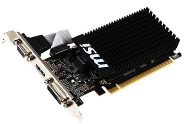 MSI GeForce GT710 2GB DDR3 PCIE Heatsink GT 710 2GD3H LP
