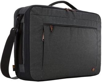 """Case Logic Notebook Briefcase / Backpack Black 15.6"""""""