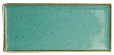 Porland Seasons Serving Plate 16.1x35.3cm Turquoise