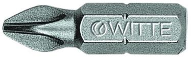 "Witte Screwdriver Bit 1/4""x25mm PH1"