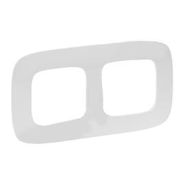 Legrand Allure 754302 2-Socket Frame White