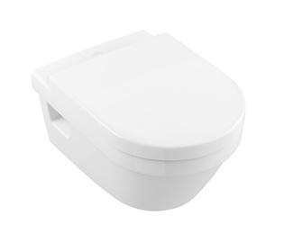 Seinapealne WC-pott Villeroy & Boch Architectura 5684HR01, kaanega, 370x530 mm