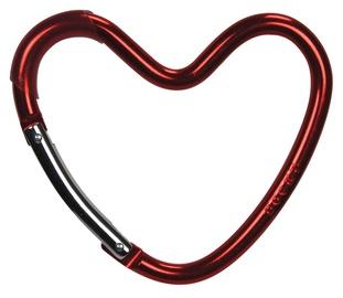 Кронштейн Dooky Hook Heart, красный