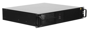 Netrack Server Case mini-ITX 2U Rack 19''